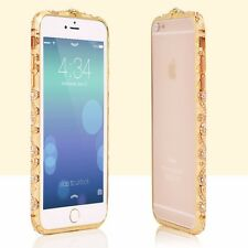 Luxury Rhinestone crystals diamond jewelled metal bumper frame 4 iPhone 6/6sPlus