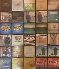 Pick 8 Tony Evans CD's Spiritual Warfare, Prophecy & our World Vol 1 & 2, & more