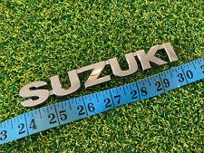 SUZUKI VITARA SWIFT CHROME ABS PLASTIC REAR BADGE EMBLEM.