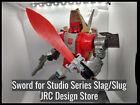 Sword for Transformers Slag/Slug Studio Series JRC DESIGN UPGRADE KIT