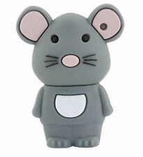1pc 32Gb Gray Rat Mouse Rodent Animal Usb Flash Thumb Drive Usa Shipper