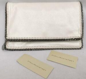 STELLA MCCARTNEY White ChainnFalabella Bag Clutch - Great Gift! New