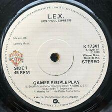 "LIVERPOOL EXPRESS GAMES PEOPLE PLAY 1979 7"" POP VINYL"