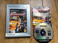 Midnight Club Racing Ps2 Game! Complete! Look At My Other Games!
