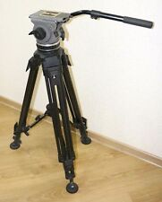CARTONI DELTA H516 100mm fluid head with 2-stage ENG T622/2C cabon tripod