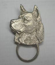Corgi Head Silver Spec Pin Detti Originals