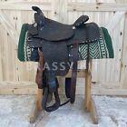 """15"""" Vintage Simco Equitation Saddle"""
