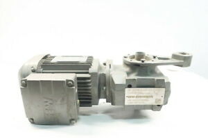 Sew Eurodrive DRS71M2/LN Gearmotor 38-450rpm 3/4hp 230/460v-ac