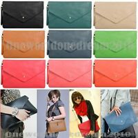 New High Quality Oversized Envelope Clutch Purse Shoulder Hand Tote Bag Handbag