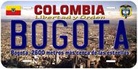 Bogota Colombia Novelty Car License Plate