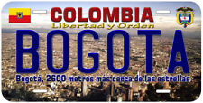 Bogota Colombia Novelty Car License Plate