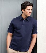 Jersey Patternless Polo Casual Shirts for Men