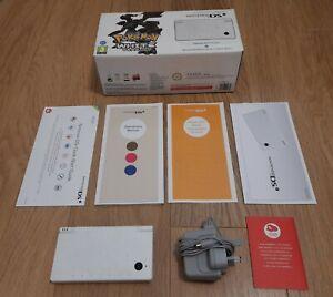 Nintendo DSi Pokemon White Reshiram & Zekrom Edition Console + Charger + BOXED