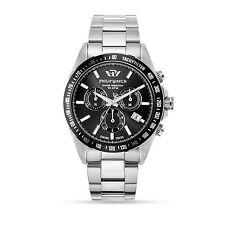 Philip Watch CARIBE R8273607002 orologio CRONO al quarzo acciaio e nero OTT16