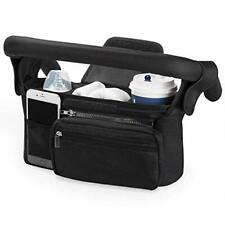 Universal Stroller Organizer with Insulated Cup Holder by Momcozy - (Original)