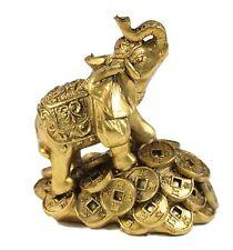 "1 Feng Shui 3"" Money Elephant Figurine Wealth Lucky Figurine Gift & Home Decor"