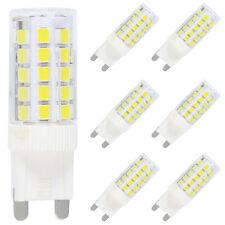 6X G9 LED Lampe Leuchtmittel,5W Ersatz für 40W Halogen Lampen,Kaltweiß 6000K