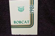 1981 Speake High School Yearbook Danville, Alabama Annual The Bobcat