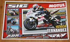2014 Patricia Fernandez ADR Motorsports Yamaha YZF-R6 Supersport AMA poster