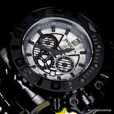 Invicta JT Sea Hunter III Black 70mm Full Size Meteorite Watch Swiss Limited New