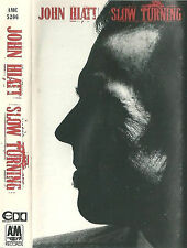 JOHN HIATT SLOW TURNING CASSETTE ALBUM Sonny Landreth Southern Rock Rock Pop