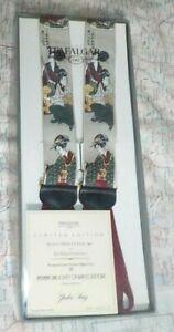 Trafalgar Limited Edition GEISHA SONG Silk Suspenders Private Collection