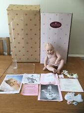 THE ASHTON DRAKE GALLERIES SPECIAL DELIVERY PORCELAIN DOLL BOXED WITH COA