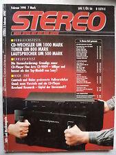 STEREO 2/90 KENWOOD KT 7020,TELEFUNKEN HT 990 RDS,ONKYO T 4670,SONY ST S 730 ES