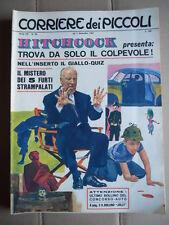 Corriere dei Piccoli n°36 1967 CON INSERTO HITCHOCK  [G750]