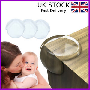 SAFETY CORNER CUSHIONS FOR BABY CHILD KIDS PROOF DESK TABLE EDGE COVER PROTECTOR
