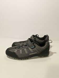 Bontrager SSR Mountain MTB WSD Cycling Shoes Grey Mens Size US 8.5