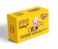 4x Lotus Baby+ Little Bubbles Gentle Baby Soap Shea Butter & Oilve Oil | 75 Gram
