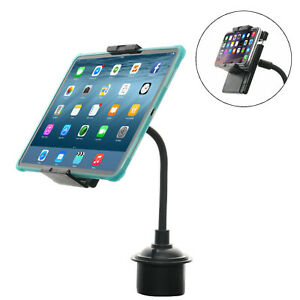 "Cup Phone Tablet Holder, TFY Car Mount for 7-10.5"" Tablets & 5-6.5"" Phones"