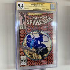 SpiderMan 300 CGC 9.4 3x Signed John Romita, Todd Mcfarlane, Michelinie