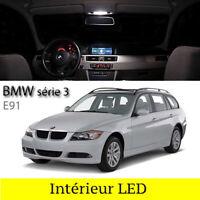 Kit 11 ampoules à LED éclairage Intérieur blanc pour BMW série 3  E91 Touring