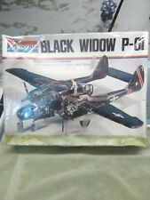 Vintage 1974 Monogram 1/48 P-61 A/B Black Widow Model Kit Sealed!