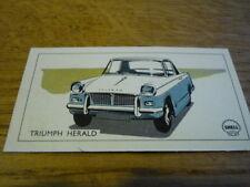 "VAUXHALL VICTOR TRADE CARD LIKE CIGARETTE CARD ""Brochure"" jm"