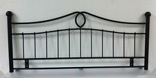 5ft Kingsize Metal Headboard for Bed in black finish BRAND NEW
