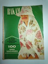 Rakam Rivista Femminili - Luglio 1961