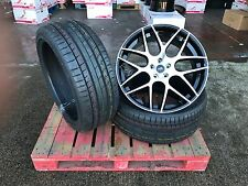 "22"" Alloy Wheels & Tyres Black Polished Range Rover Sport Land Rover Discovery"