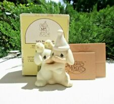 Nos 1991 Precious Moments Lets Be Friends Puppy & Kitty Birthday 527270 with Box