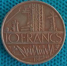 PIÈCE MONNAIE 10 FRANCS MATHIEU 1976    Ref : 00139