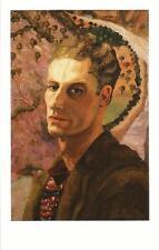 "Postcard  Cedric Lockwood Morris ""Cedric Morris"" Nat'l Portrait Gallery UK MINT"