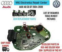 Repair Kit for Steering Lock Module 1x Relay 3x Micro Switches Audi A6 4F C6 Q7