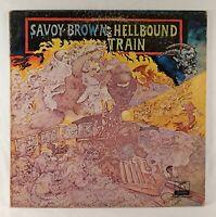 "Savoy Brown - Hellbound Train 1972 London / Parrot 12"" 33 RPM LP Gate-fold (VG+)"