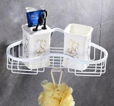 SUS 304 Bathroom Bath Caddies Storage Basket Organizer Wall Hanger Shelf Holder