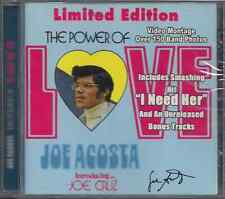 Mega RARE salsa CD JOE ACOSTA Power of Love LIMITED EDITION Joe Cruz I NEED HER