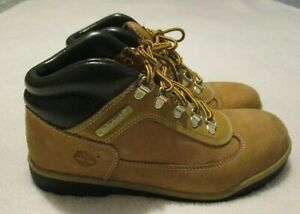 Timberland Light Brown Leather Lace Up Ankle High Hiking Boots - Size 6 M
