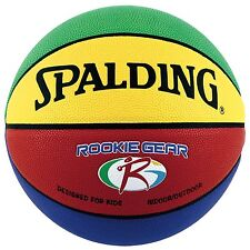 SPALDING JAPAN Basketball ROOKIEGEAR Size:5 Yellow Green for Kids 74-281Z