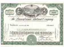 Lot: 10 Pennsylvania Railroad Company